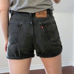 Levi's Black Shorts